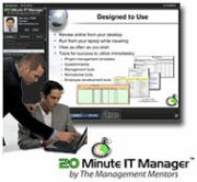 20 Minute IT Manager, , , over 160 e-Learning sessions