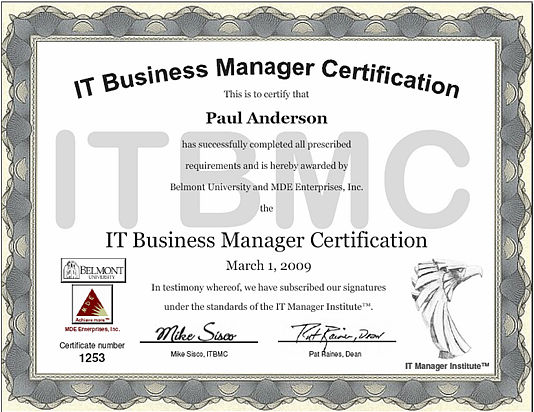 IT Manager Institute