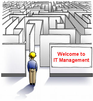 how to become manager in it company