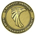 IT Manager Institute eagle coin