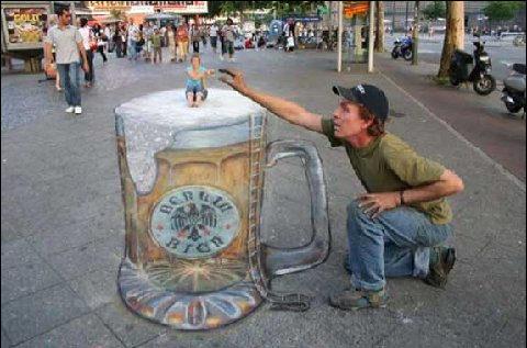 sidewalk chalk art itlever