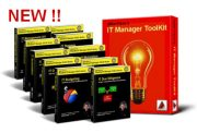 Ten e-Books plus BONUS IT Manager ToolKit