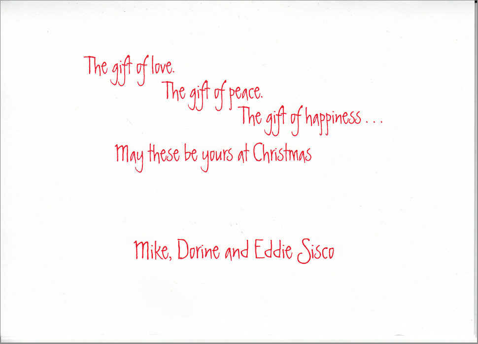 Merry Christmas And Happy New Year Letter Sample | Holliday