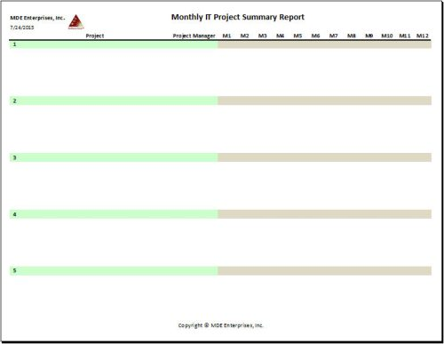 Project Summary Report