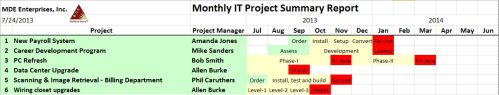 project summary_sample-executive